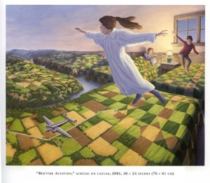 Hier ein Beispiel aus der Malerei von Rob Gonsalves